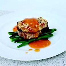 Crusted Pork Steak... Another delicious recipe from book 7