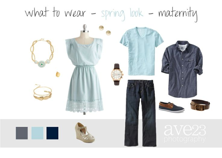 Spring Look - Maternity  Pretty pastels are perfect for spring maternity sessions! Loving this pale blue!