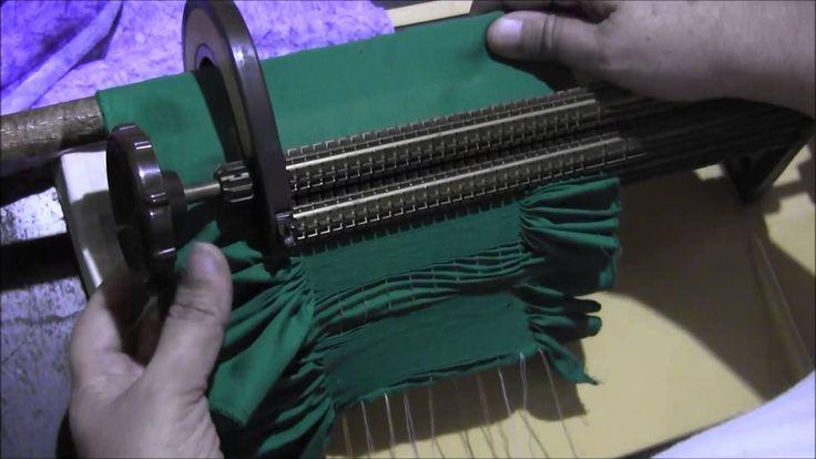 Video frunciendo con la máquina para bordar smock