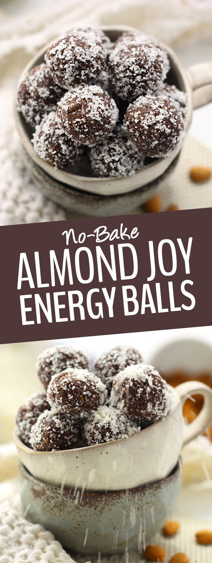 These No Bake Almond Joy Energy Balls Are Inspired By The