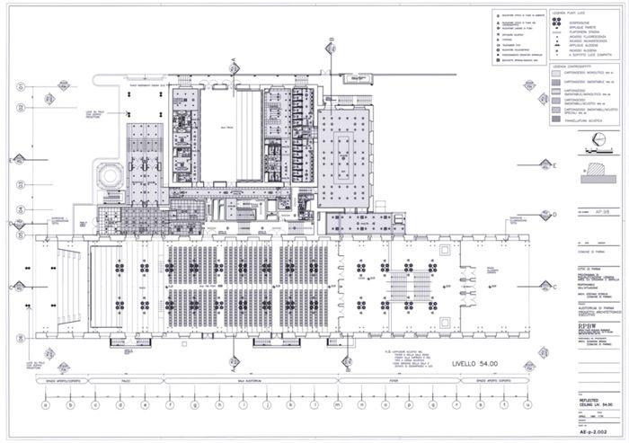 Disegni - Niccolò Paganini Auditorium - Rpf