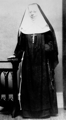 Heiress-turned-nun who devoted her life and fortune to fighting the devastating effects of racism, Mother Katharine Drexel  My grandmother knew her!