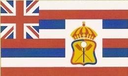 Hawaii Flags through history
