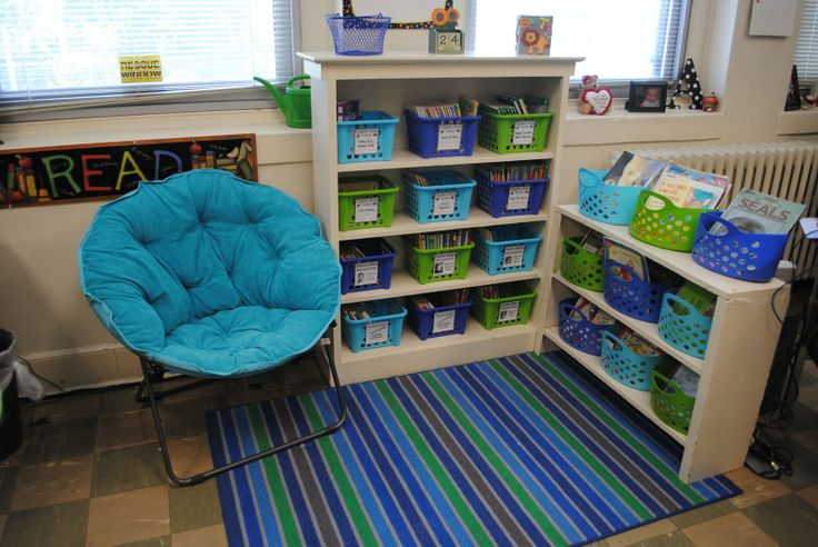 Love this library!!: Reading Area, Classroom Decor, Color Schemes, Blue Green, Reading Corner, Reading Nooks, Reading Center, Classroom Libraries, Classroom Organization