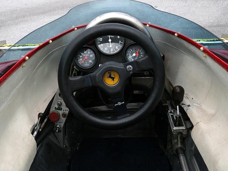 Ferrari Vintage F1 cockpit