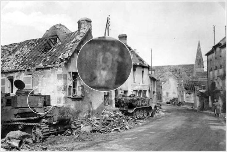 We can see a II./Pz.Rgt.3 ( 2.Panzer ) Panzer IV on this picture taken in Chambois, the others digital number probably missing by fire.