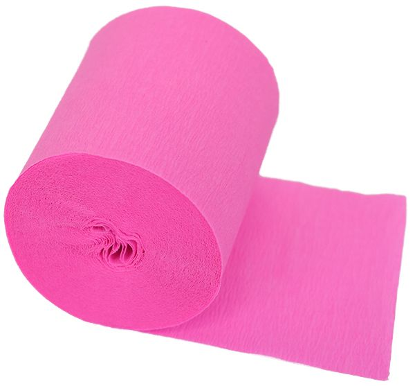 Crepe Paper Party Streamers Bubblegum Pink