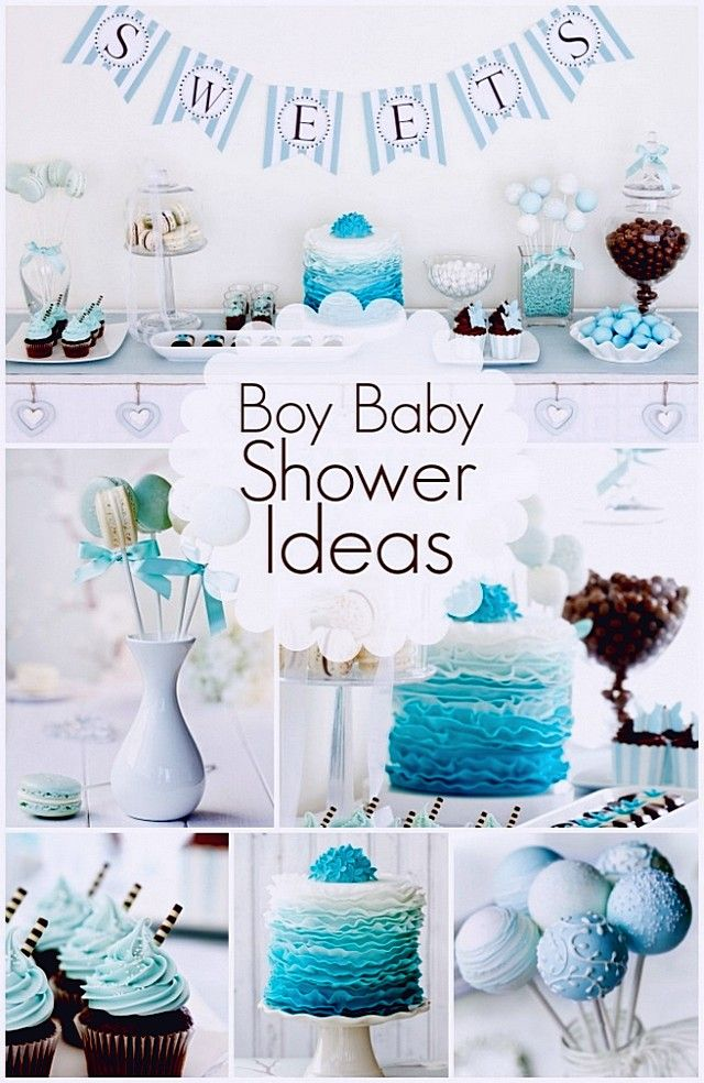 ... Gallery of the The concept combination of baby shower ideas for boys