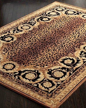 .Roman Leopard Rug.          t
