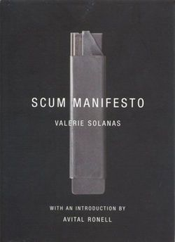 SCUM Manifesto by Valerie Solanas I want this book back