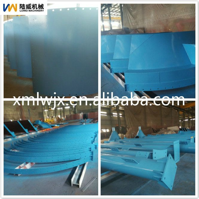 Best quality sand silo steel silo for storage the sand price. sheet steel seal silo.