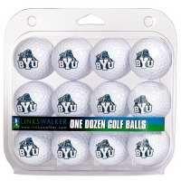 BYU Store - Cougar Over BYU Golf Balls - One Dozen