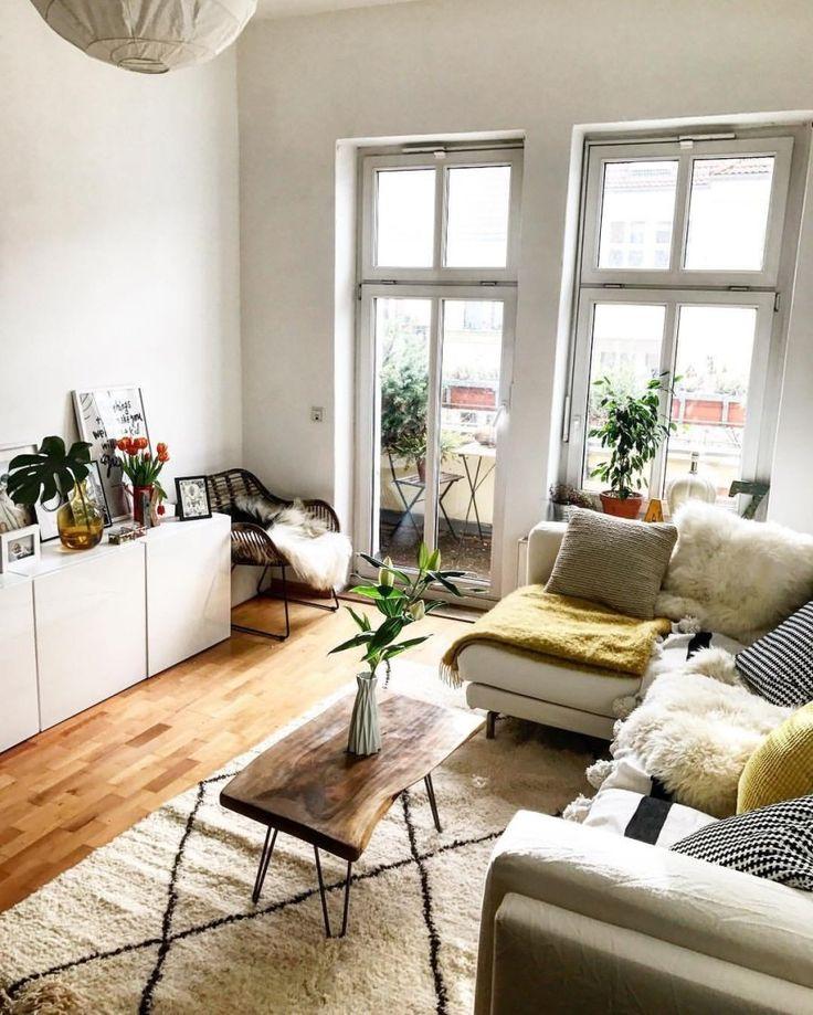 8 idee per trasformare un piccolo soggiorno (con immagini ...
