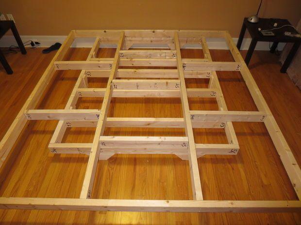 floating bed floating bed framefloating platform - Platform Frame Bed
