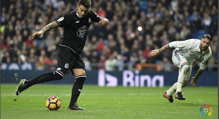 El Depor cae en el Bernabéu ante un Real Madrid con más suerte que oficio (3-2)