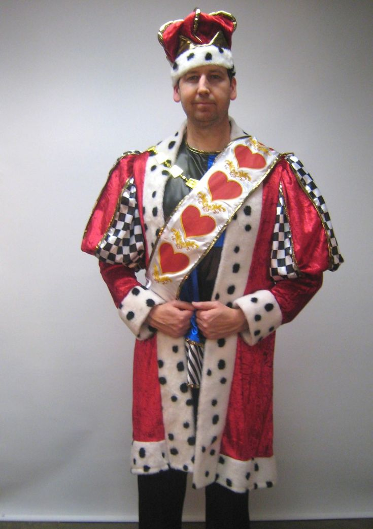 Homemade King Of Hearts Costume                                                                                                                                                                                 More