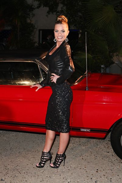 Jaime Pressly, Scott Disick at Maxim Magazine and Ford Mustangs Academy Awards after party