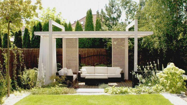 Biała altana ogrodowa - jak zbudować