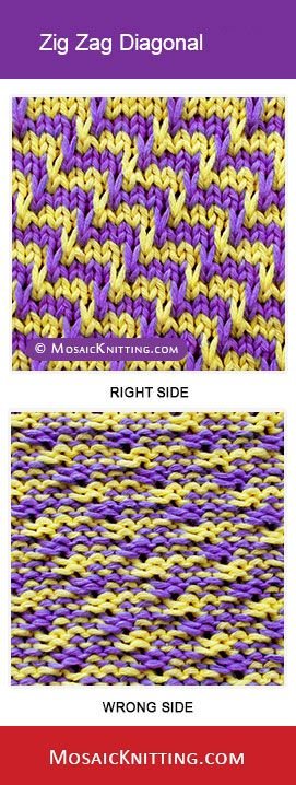 Tutorial Zigzag Knitting : Best images about knitting sitches charts