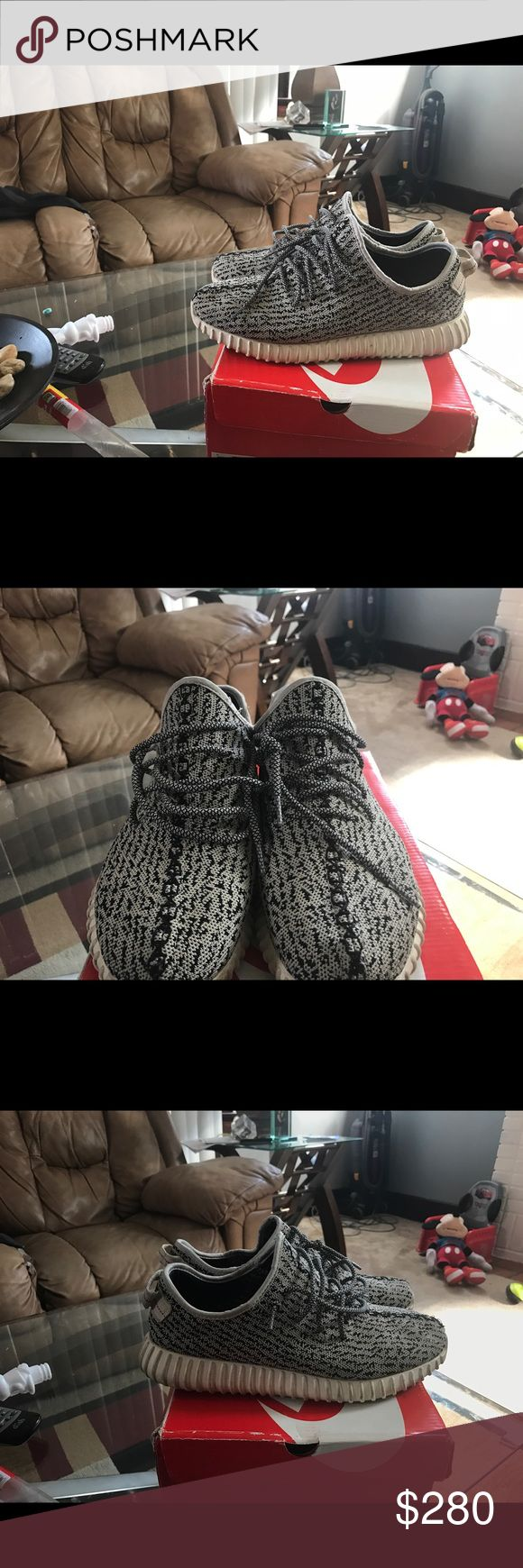 YEEZY 350 turtle doves size 11 Worn 10+ times that's why price isn't sky high Yeezy Shoes Athletic Shoes