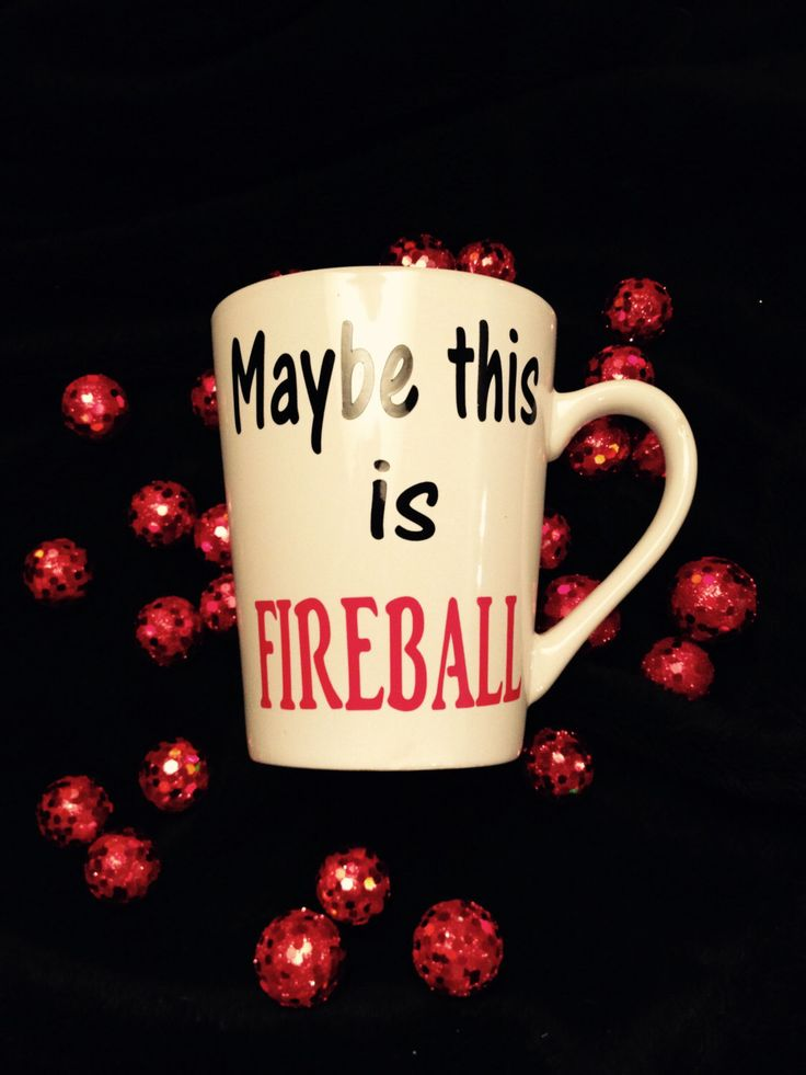 fireball whiskey,funny coffee mugs,unique coffee cups, popular coffee mugs, gifts for besties,  coffee drinker gift, whiskey drinker gift by SarahOlsenDesigns on Etsy https://www.etsy.com/listing/263364743/fireball-whiskeyfunny-coffee-mugsunique