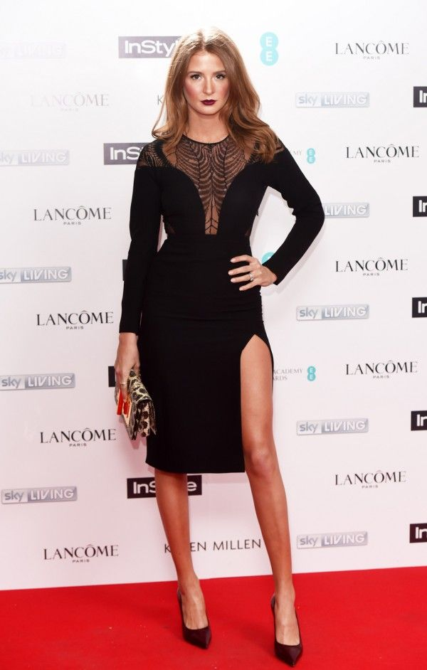 Millie Mackintosh At The InStyle BAFTA EE Rising Star Party 2015 In Gucci, Tom Ford And Celine