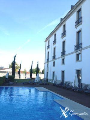 swimming pool at Pousada of Viseu