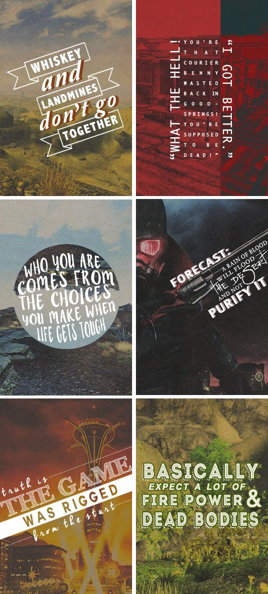 new vegas + quotes  #fallout