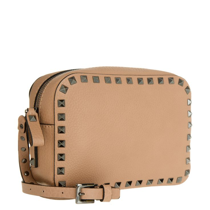 Valentino Rockstud Camera Crossbody Bag Blush Elle bei Fashionette