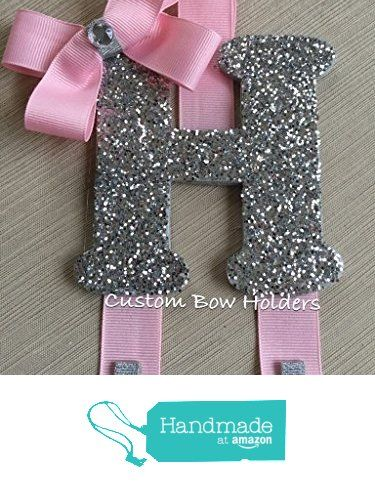 Hair Bow Holder - Cheer Bow Holder Sparkle Letter - Any Colors/Letters from Custom Bow Holders & More http://www.amazon.com/dp/B017L6E0CO/ref=hnd_sw_r_pi_dp_aPeIwb0FP6H6N #handmadeatamazon