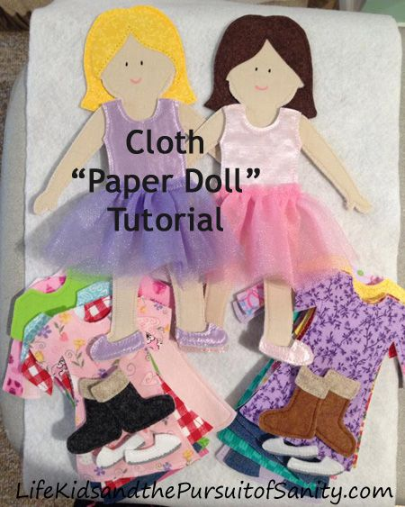 """Cloth """"Paper Doll"""" Tutorial 