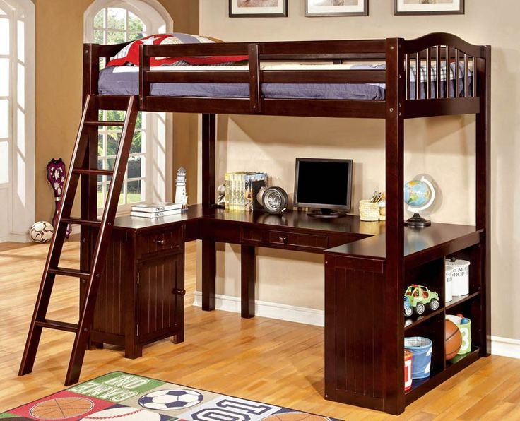 Perfect bedroom set for the studious youngling!   Learn more details about it http://www.furniturepick.com/dutton-cottage-twin-loft-bedroom-set-espresso-furniture-of-america-fa-cm-bk265ex-cm7905exp-br.html  #furnitureofamerica #homeideas #furniturepick #dutton #furniturestore #decor #youthbedroom #bedroomideas #decorideas #furnituredesign