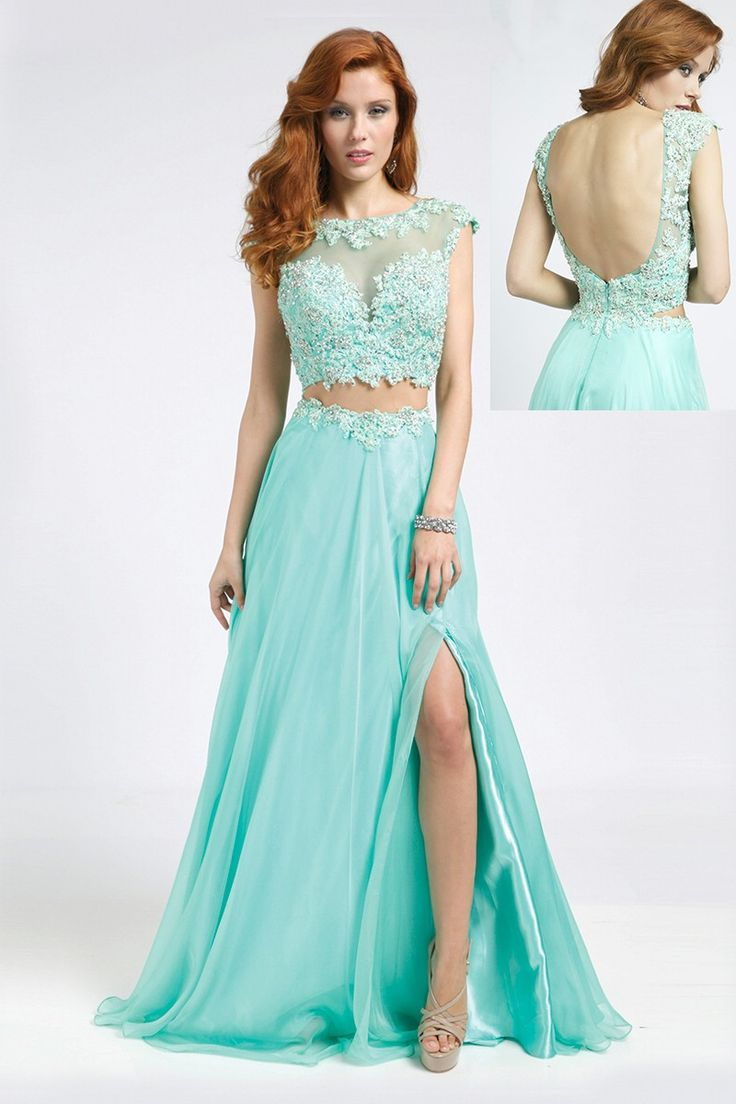 50 best Two Piece Prom Dresses images on Pinterest | Party wear ...