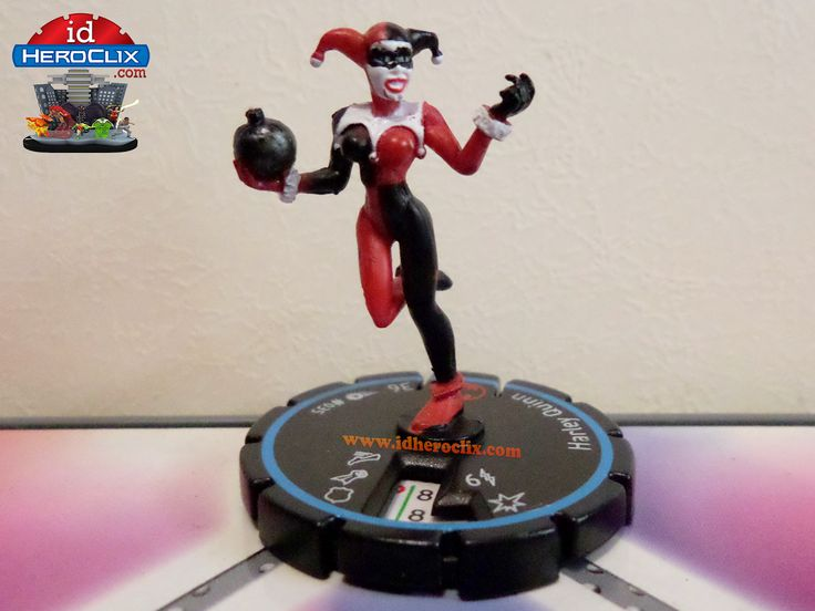 Harley Quinn #035 Experienced DC Heroclix Hypertime