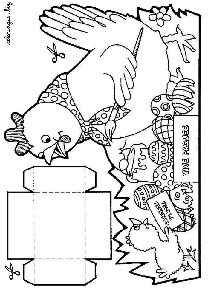 Suite des petits paniers de Pâques