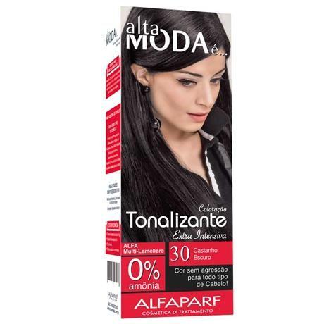 Kit Tonalizante Alfaparf Alta Moda Castanho Escuro 30