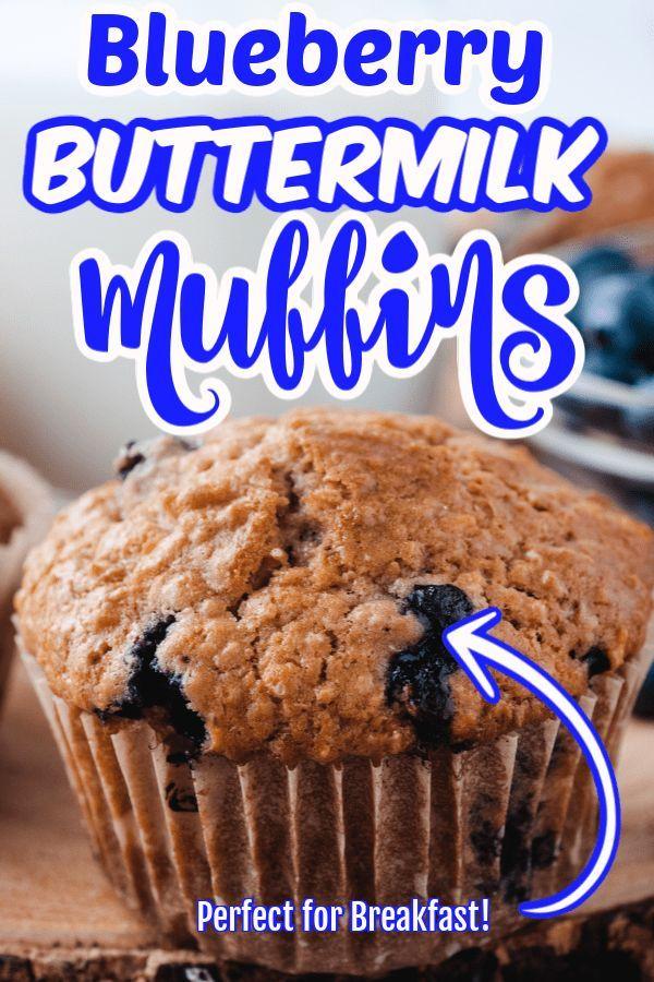 Homemade Buttermilk Blueberry Muffins In 2020 Buttermilk Blueberry Muffins Buttermilk Muffins Sweet Recipes