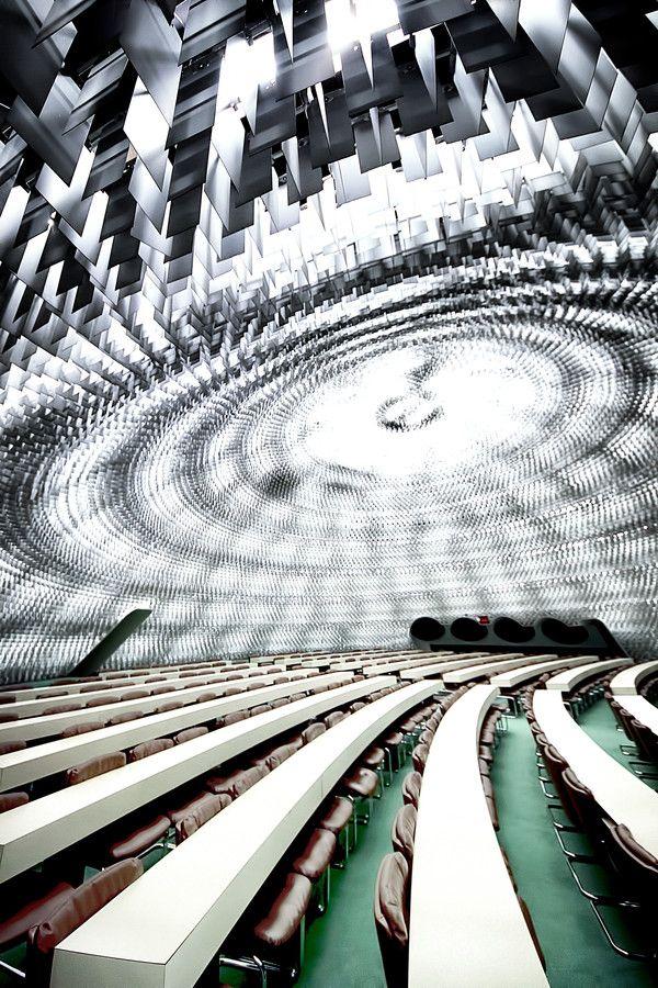 Siège Parti Communiste, Oscar Niemeyer.