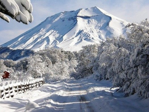 Volcan Lonquimay - snowboarding!