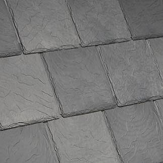 Bellaforte Synthetic Slate Roof FIELD Tiles, VILLA BLEND (10) - Bellaforte Synthetic Slate Roof FIELD Tile, VILLA BLEND Multi-Color. 10 Pieces/Bundle. Price/Bundle. (special order item; 3-4 week leadtime; 20% restock fee; less than 12 bundles not returnable; free sample available)