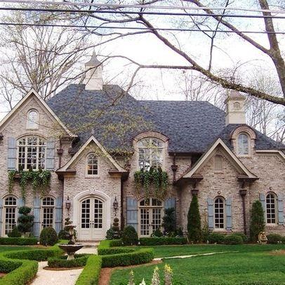 16 best front elevation images on pinterest facades for Brick elevation design