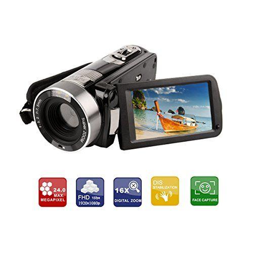 Ckeyin ® Videocamera Full HD, 5 Megapixel, Zoom digi... https://www.amazon.it/dp/B00NQRVMQA/ref=cm_sw_r_pi_dp_x_F-j6xbPNHJB3Q