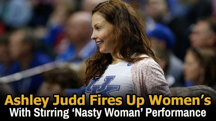 Ashley judd ted  talk   ashley judd speech womens march   ashley judd sp...