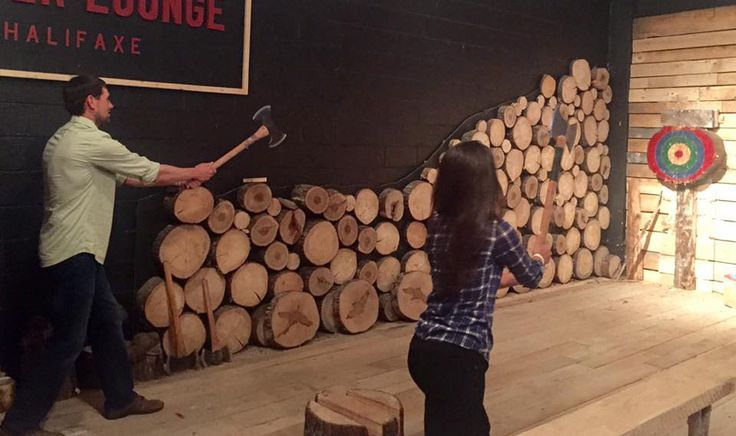 Become a Lumberjack For a Day in HALIFAX | Halifax Sociable
