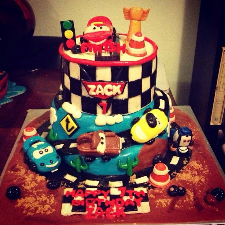 Disney Cars Birthday Cake  Disney Cakes For Boys  Pinterest - Birthday cake cars 2