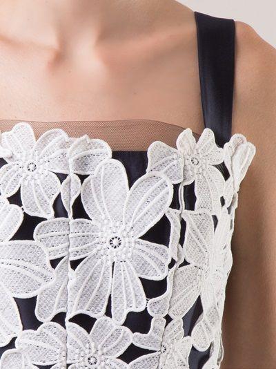 MARTHA MEDEIROS - Vestido off white e marinho 10