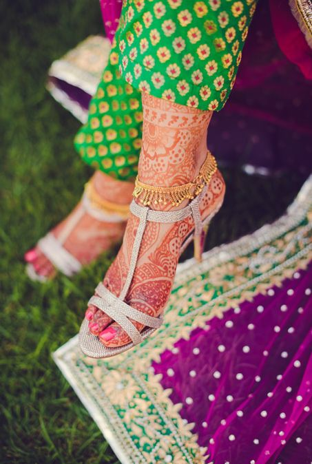 #Gorgeous #Mehndi ❁ #Henna on Feet