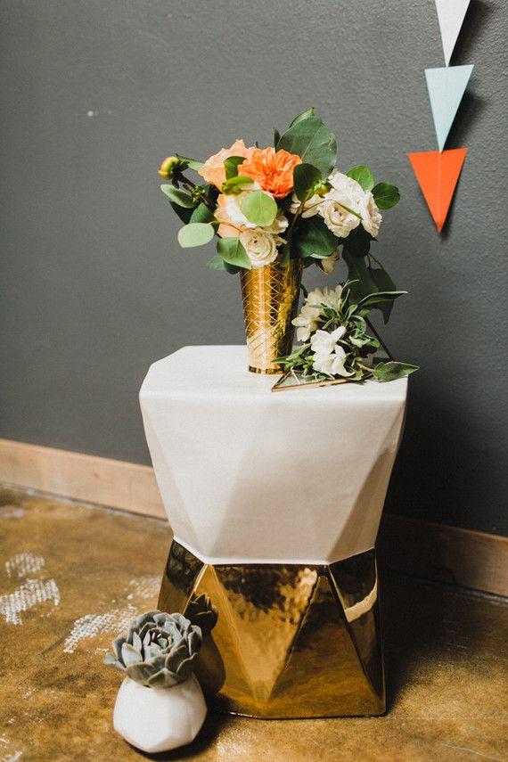 Retro+wedding+decor+|+Wedding+