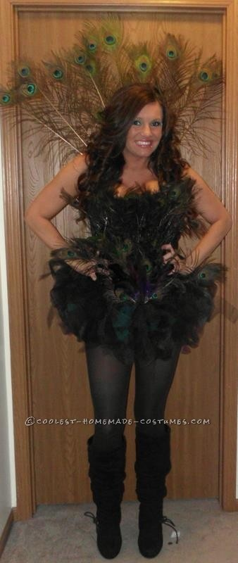 Coolest Homemade Peacock Halloween Costume ...This website is the Pinterest of…