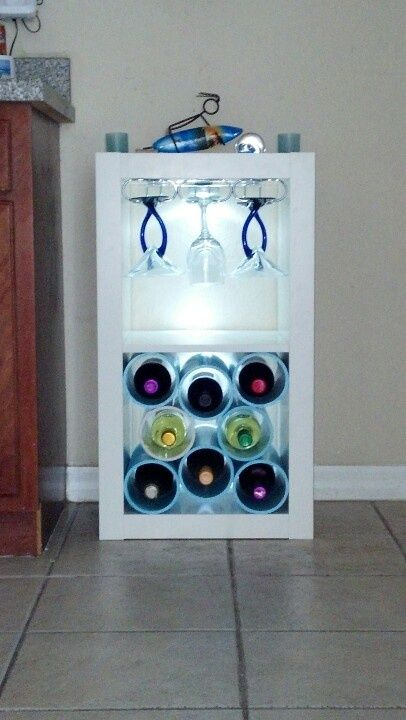 Diy Expedit Wine Rack Organize With Ikea Expedit Kallax